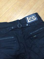 Lee  ブラック  パンツ