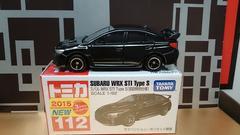 ★初回特別仕様赤箱トミカ112★スバル WRX STI Type S★