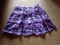 UNIQLO ユニクロ 女の子用 スカート サイズ M