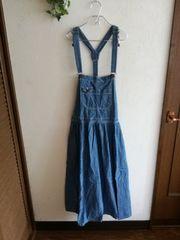 w closet wears inc☆デニムジャンパースカート
