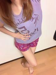 *ぴちぴた 愛用お部屋着Tシャツ 薄紫*