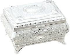 【Piearth】キラキラ高級感♪ロイヤルスタンダードクリスタルジュエリーボックス宝石箱