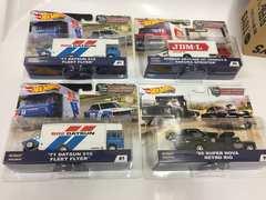 ホットウィール チームトランスポート3種4台1BOX販売 新品