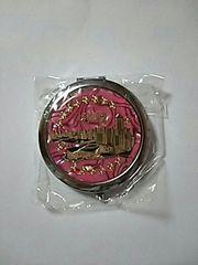 新品 香港 お土産 ミラー 鏡 2面 ピンク Hong Kong
