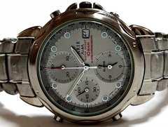 極希少 1スタ予★SEIKO CARIB アラーム クロノグラフ 腕時計