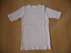未使用シンプル/リブTシャツ