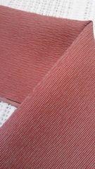 花簪半衿ざっくり着たい粋な半衿/憧れの沢村貞子風に・赤