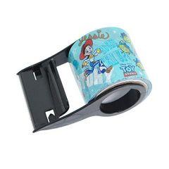 ディズニー【トイストーリー】可愛いテープカッター付き♪太幅デザインテープ