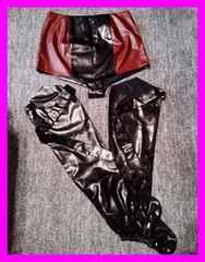 ダンス衣装 特注品 パンツとブーツカバー 大きめサイズ