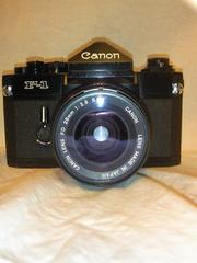 キャノン F1  F2.8 28�o レンズ付き