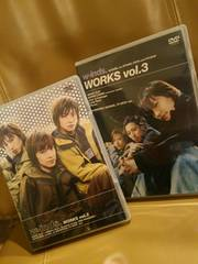 w-inds.WORKSvol.2&3プロモビデオグリップDVDベストBEST音楽