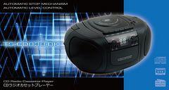 CDラジオカセットデッキ TS-CD838-BK
