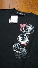 新品★「サーフブランド&龍柄」半袖Tシャツ=M=定価3045円