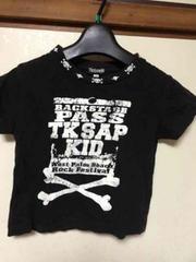 TK SAPKID/100cm/半袖Tシャツ/Tシャツ/ブラック