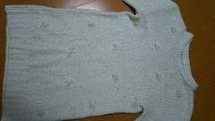 ユニクロ UNIQLO 140�p セーター ニット 女の子 ガーリー ふんわり キッズ