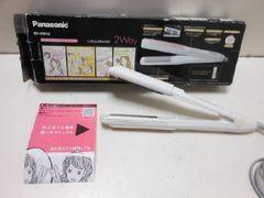 6643★1スタ★未使用品 Panasonic/パナソニック カールアイロン/ストレートアイロン