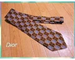 新品 クリスチャンディオール/Dior シルク100%ネクタイ