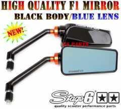 STAGE6ミラー艶有ブラックフュージョンフォルツァフェイズジェイドVTR250グロムディオ110