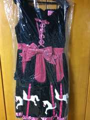 Angelic Pretty カーニバル JSK 名古屋店限定 黒 濃ピンク