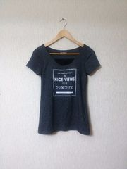 HK WORKS LONDON■新品カップ付きTシャツ under wear