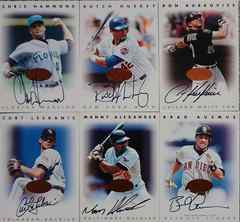 DONRUSS.1996 LEAF SIGNATURE SERIES.直筆サインカード6枚セット �@ MLB