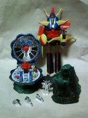 勇者ライディーンと科学要塞ムトロポリス2点セット当時物