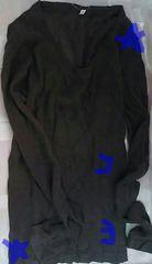 無印良品 ガーゼクルーネックセーター 茶色 婦人服 M 新品