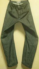 日本製¶Levi's[リーバイス]★エンジニアドジーンズ・ブラックデニムパンツ 78cm