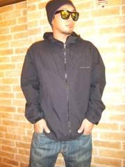 【希少刺繍ロゴ】ノースフェイス「コンパクトジャケット」黒XL♪大きめサイズ