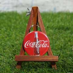 新品【オープナー】Coca-Cola/コカコーラ ボトル キーリング付