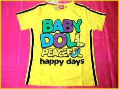 ☆新品☆ベビードール*BABYDOLL*王冠&ロゴ・半袖Tシャツ/140