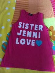 #SISTAR Jenni#可愛LOVEタンク150だけど小さめかも?ジェニージディ