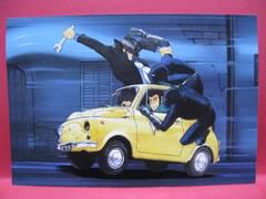 ◆非売品★ルパン三世☆カリオストロの城ポストカード★未使用◆
