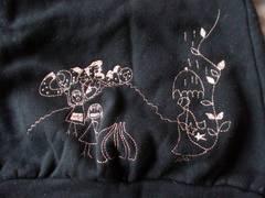 jocomomola 刺繍が可愛い半袖スウェット