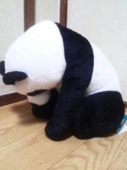■感謝祭!!ZooZooZoo へこむわ寝〜BIGぬいぐるみ パンダ〜■