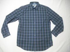 fy926 男 CK CALVIN KLEIN カルバンクライン チェックシャツ M