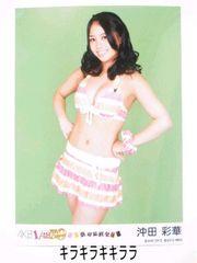 沖田彩華.NMB初回限定版*PSP恋愛総選挙/AKB48[生写真]