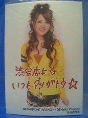 ご当地スペシャル第4弾 渋谷・メタリックL判1枚2008.7.15/岡田唯