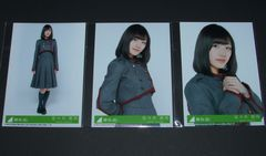 欅坂46 不協和音 初回盤封入生写真3枚セミコンプ 佐々木美玲