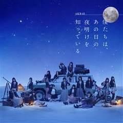 AKB48 僕たちは、あの日の夜明けを知っている 劇場盤 CD 未開封