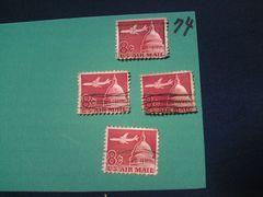 外国の切手 「アメリカ」 (74)