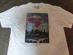 USA購入 アメカジ【ZOOYORK】イラストプリントTシャツUS XXL