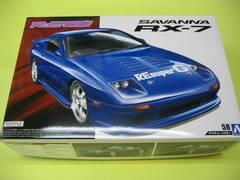 アオシマ 1/24 ザ・チューンドカー No.58 RE雨宮 FC3S RX-7 '89 (マツダ)