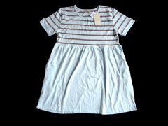 新品 Bouquet blanc 半袖 Tシャツ チュニック ワンピース