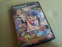 PS2☆ONEPIECEワンピース グラバトRUSH☆格闘。