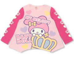 新品BABYDOLL☆100 マイメロディ ロンT ピンク Tシャツ ベビードール