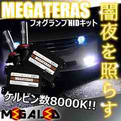 Mオク】ハスラーMR31S系/フォグランプHIDキット/H8/8000K