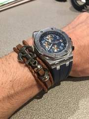 メンズ  ブランド インポート 腕時計 新品未使用 ブルー