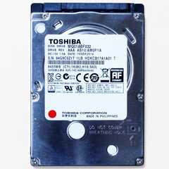 中古良品 東芝 2.5インチ HDD SATA 320GB ノートPC用 送料216円