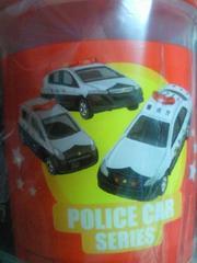 アサヒ飲料 トミカ プラレール コラボ ストローボトル 水筒 警察 パトカー デザイン